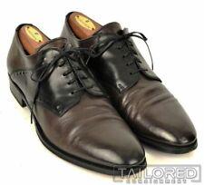 EU 40 men/'s shoes ALEXANDER 7 elegant black suede leather BY448-40