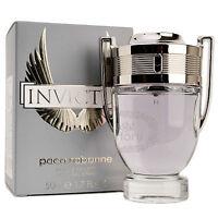 Paco Rabanne Invictus Eau De Toilette Men's Cologne Perfume Parfum 3.4oz 100ml