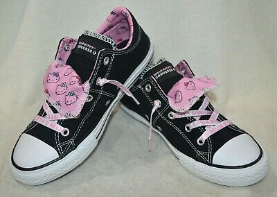 656058F PS//GS Converse CTAS Double Tongue Oxford Pink Glow//Pink Glow//White
