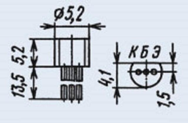 BC559  USSR  Lot of 100 pcs BC322B Transistors KT3107J = 2N4126 BC309B