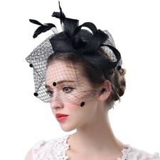 e27f1f8b7bfd9 item 1 Women Fascinator Hat Flower Mesh Ribbons Feathers Headband Cocktail  Tea Party UK -Women Fascinator Hat Flower Mesh Ribbons Feathers Headband  Cocktail ...