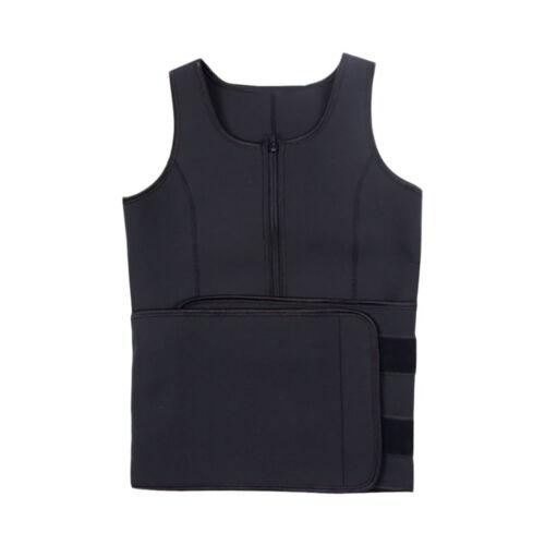 Women/'s Neoprene Waist Trainer Corset Sweat Belly Belt Vest Slimming Shapewear