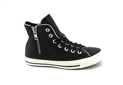 escritorio pacífico Ciudadanía  CONVERSE Women's Shoe with Zip Art. 562887C Mod. Ctas Side Zip Hi | eBay