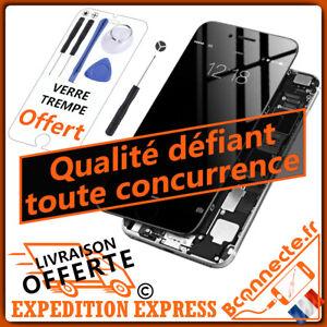 Ecran LCD /Complet iPhone 6 6s 7 8 /Plus Noir Blanc Vitre Tactile sur Châssis