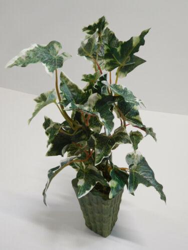 Efeu Efeubusch Kunstpflanze Efeupflanze Bambustopf H 40 cm 12737-HOL getopft F51