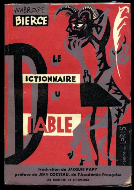 Ambrose Pierce Le Dictionnaire Du Diable Les Quatre Jeudis 1955 Ebay