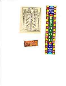 ROCK-OLA-ROCKOLA-JUKEBOX-1530-1536-WALLBOX-DECALS-CENTER-GLASS-TOP-CASE-INSIDE
