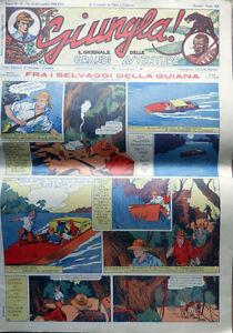 Nerbini_GIUNGLA - IL GIORNALE di CINO e FRANCO n.173 del 1938 - Ristampa - Italia - Nerbini_GIUNGLA - IL GIORNALE di CINO e FRANCO n.173 del 1938 - Ristampa - Italia