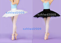 New Ladies Ballet Tutu 5 Layers Hard Organdy Platter Skirt with Panty 2 Colors