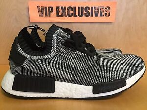 ygvepp Adidas NMD Runner PK Glitch Camo Black White Nomad s79478 -IN HAND