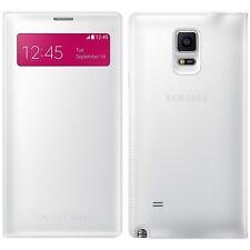 Original Samsung S View Flip Funda Galaxy Note 4 Sm N910 Smartphone cubierta de libro