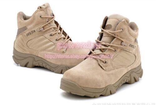 Homme Militaire Bottines Tactique à Lacets Desert Combat Escalade Outdoor Chaussures