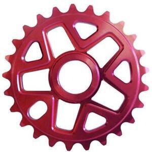 SC-25-Tooth-Red-Alloy-Single-BMX-Chainwheel