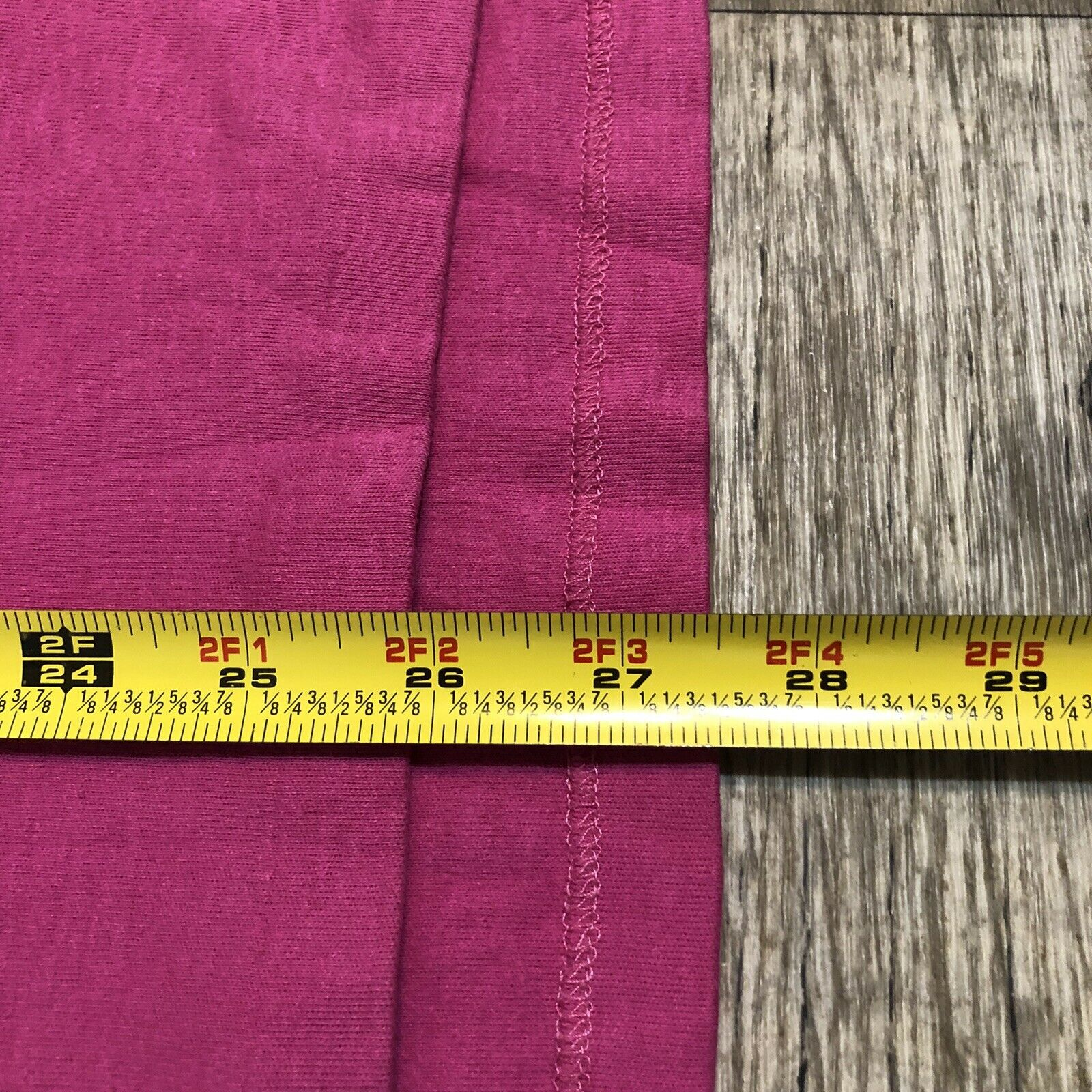 Vtg Ralph Lauren Polo Pink Striped Cotton Short S… - image 8