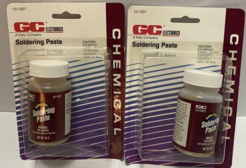Details about  /Lot of 2 GC Electronics 10-207 Soldering Paste 2.29 FL oz Bottle