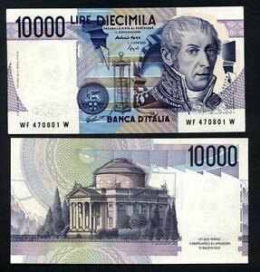 """10.000 Lire Volta Lettre """" F """" Fds Ass X8gxdjog-08005938-459974579"""