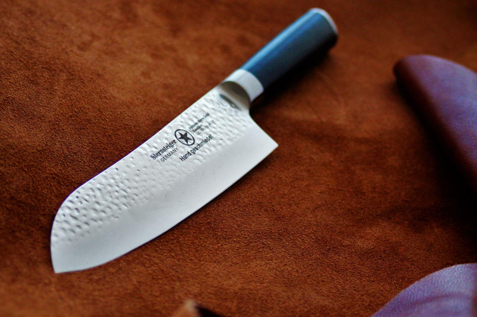 Damassé Couteau De Cuisine, damassé couteau, couteau, couteau, Damascus knife, étoile Steiger