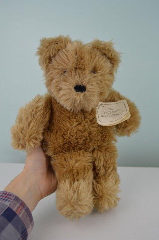 Eden Basil Bear Collection Teddy Plush Stuffed Animal Toy Tan w/Tags 12