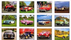 Calendario Camion 2019.Dettagli Su 2019 Auto Classiche Camion Calendario Orsche Vette Healey Maserati Ford