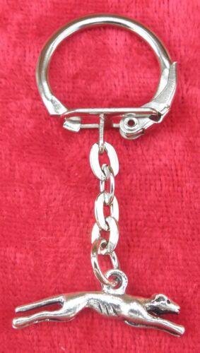 Greyhound Dog Keyring Key Ring Gift Animal Lovers Souvenir