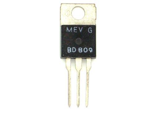 BD 809 prestazioni transistor, transistor 1x MeV bd809 m366