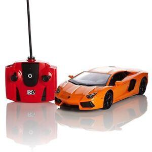 Lamborghini-Aventador-Orange-1-24-Telecommande-Telecommande-Voiture-Enfants
