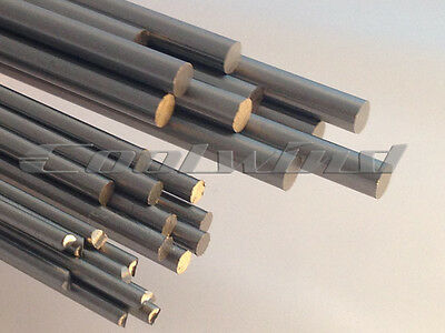 Silver Steel Ground Rod Shaft Round 2mm 3mm 4mm 5mm 6mm