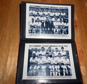 SCUNTHORPE UNITED F.C Photo Album (1950's & 1960's +++ more)