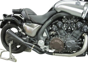 Details about Maxflow ThunderMax 4-1 Slip On Exhaust System Yamaha Gen 2  VMAX (2009-2019 All)