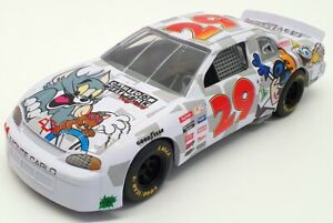 Racing-Champions-1-24-escala-09050-Stock-Car-Chevy-29-Nascar-Blanco