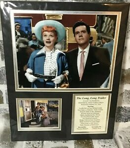 I-Love-Lucy-The-Long-Long-Trailer-11-x14-Matted-Lucille-Ball-Scene-Cast-Photos