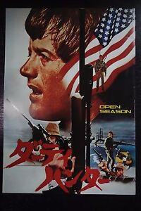 Open-Season-Japanese-Movie-Program-Pamphlet-1974