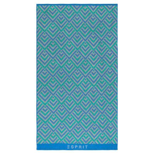 Esprit jacquard plage draps Zora Bleu Serviette Serviette liegetuch 100x180 cm