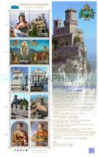 GIAPPONE 2010 - FOGLIETTO CONGIUNTA SAN MARINO **