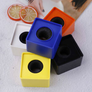 ABS-Square-cube-shaped-interview-KTV-mic-microphone-logo-flag-station-hot-DR