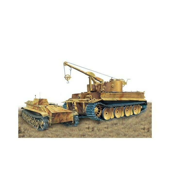 solo para ti TIGER I & & & BORGWARD IV HEAVY DEMOLITION CHARGE VEHICLE KIT 1 35  comprar marca