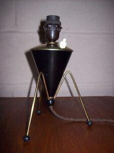 Vintage-Retro-Mid-Century-Small-Brass-Sputnik-Table-Side-Lamp