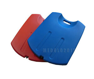 cpr back board first aid medical plastic blue color cup shaped cpr