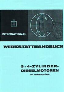 Werkstatthandbuch IHC Motor DU-99 DU-111 DU-132 D-132-S DU-148 auch für den 323