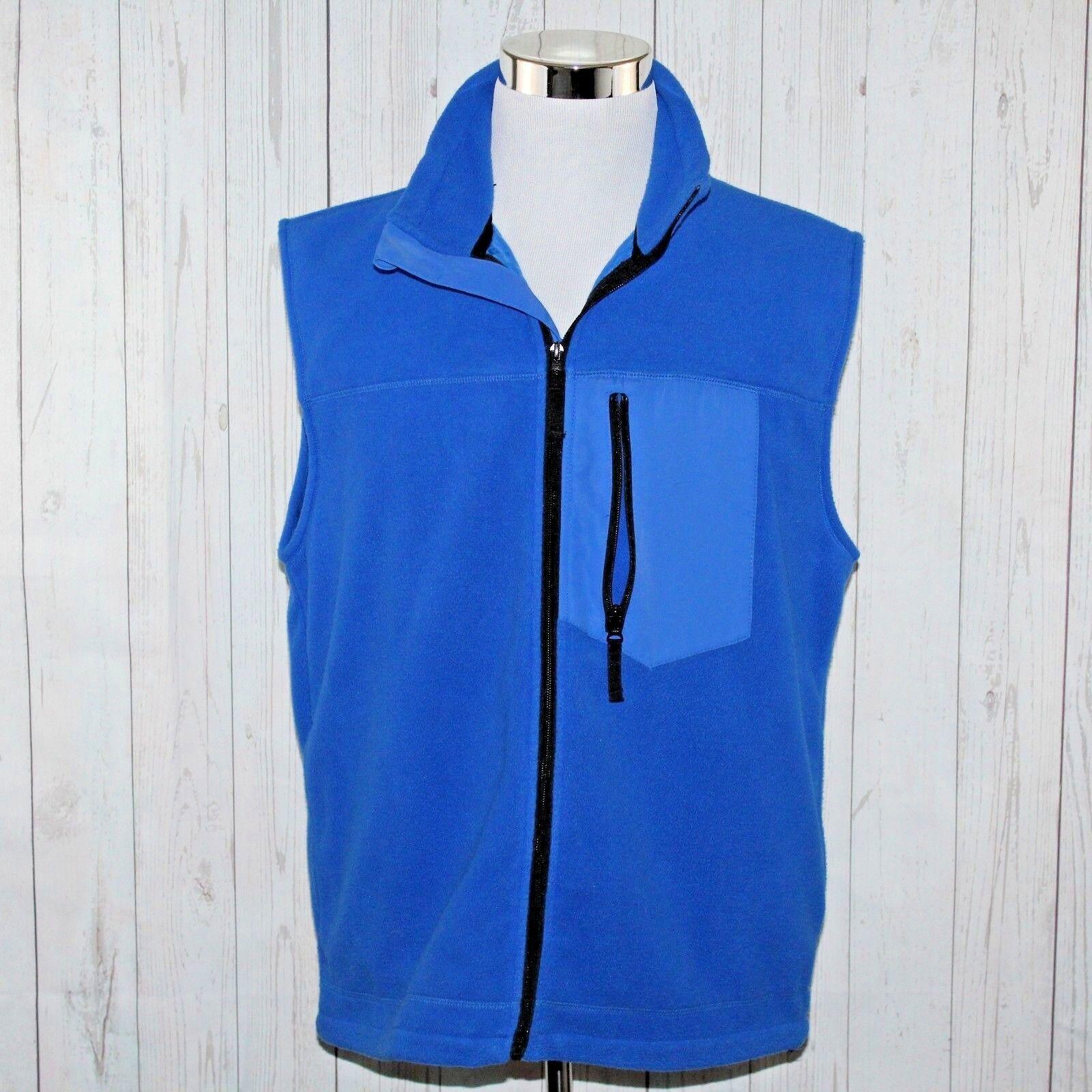 1cf0bd37bf Trading Co Lrg Tall L T Lined Full Zip bluee Polartec Vest Retired Duluth  Fleece nzgarf2953-Coats & Jackets