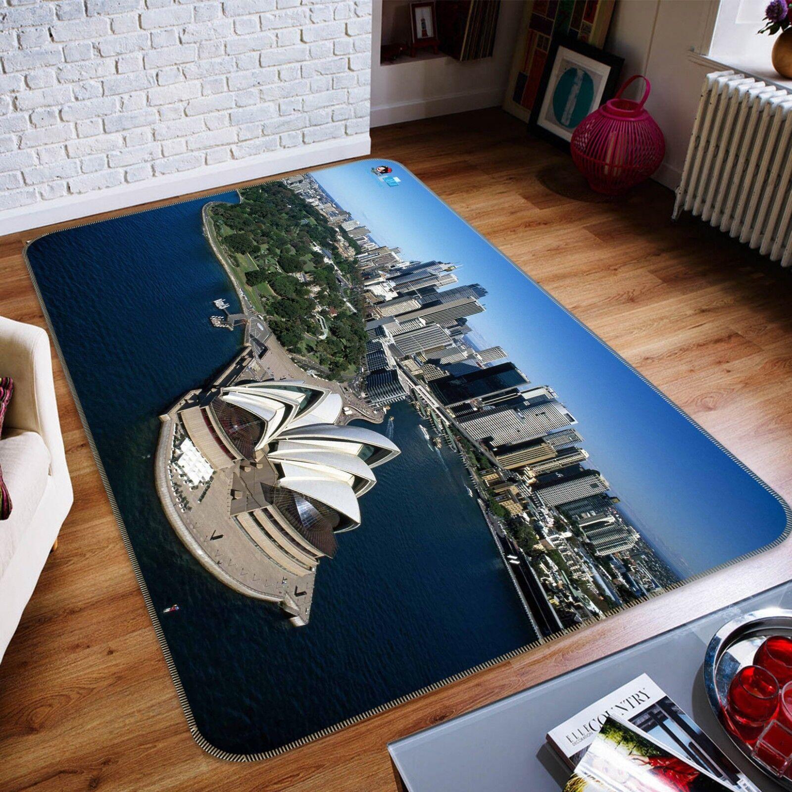 3D costruzione di mare 102 tappetino antiscivolo tappeto camera Tappetino Qualità Elegante foto Tappeto UK COBB