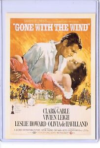 Vintage Repro Movie Poster Gone With The Wind Reproduction
