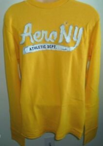 4ce1e156 Mens AEROPOSTALE Long Sleeve Aero NYC Thermal T-Shirt NWT #1588 | eBay