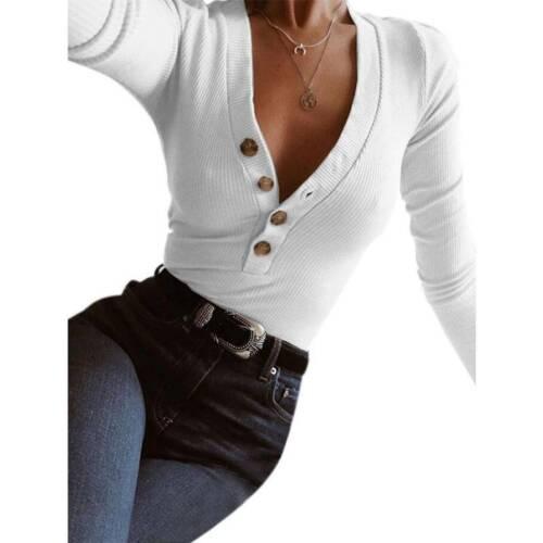 Damen Strickpullover Langarm Herbst Winter Freizeit Pulli Sweater Sweatshirt Neu
