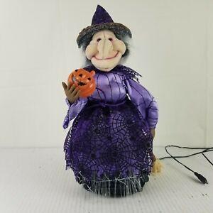 "Fiber Optic Halloween 16"" Witch  *NEEDS ADAPTER*"