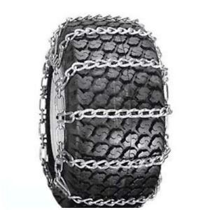 Details about Snow Tire Chains for ATV, Snow Blower / Thrower 2 Link 13 x  5 00 x 6
