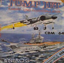 Jump Jet (Anirog Soft) C64 C 64  Diskette (Cover, Manual Disk etc) 100% ok