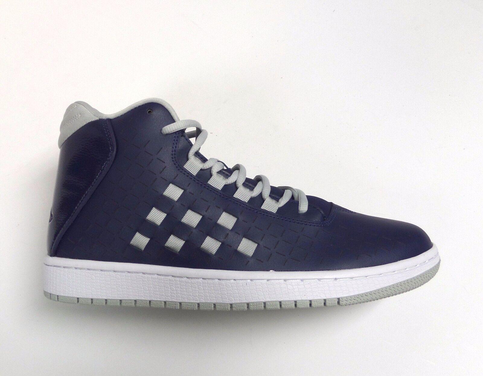 hot sale online f9b40 cce9d Nike Hombre Air Jordan ilusión ilusión ilusión zapatos MID Navy   gris    blanco 705141-