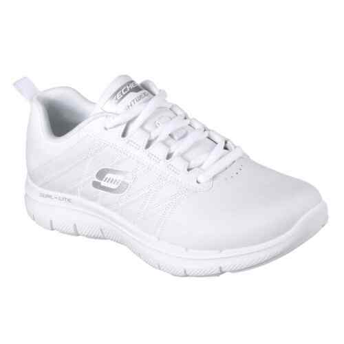 Skechers Womens Flex Appeal 2.0 Trainers Running Shoes Lace Up