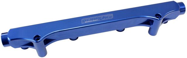 Aeroflow Billet Fuel Rail Kit suit Audi, VW 1.8L 20V Blue Finish AF64-2133